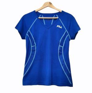 Fila blue athletic t-shirt small